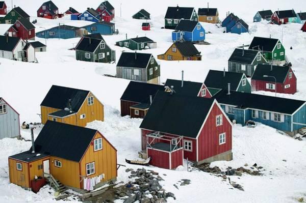 Arctic Village Poster