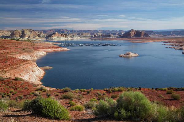 Arizona, Lake Powell At Wahweap (far Poster