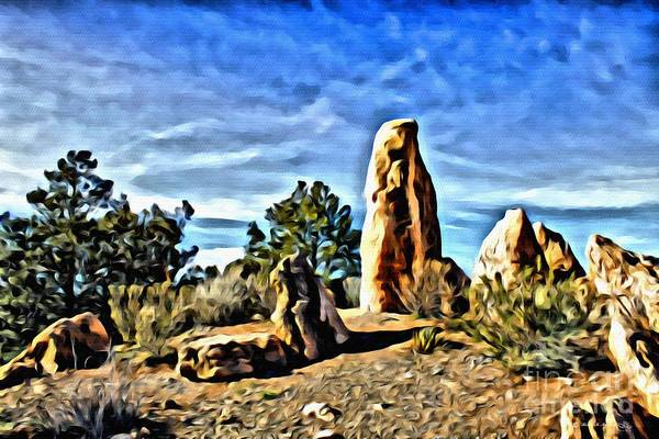 Arizona Monolith Poster