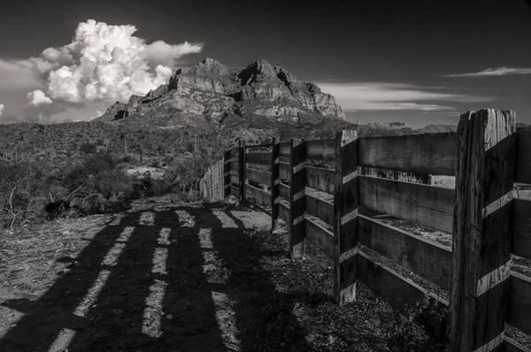 Arizona Ranch Fence Poster