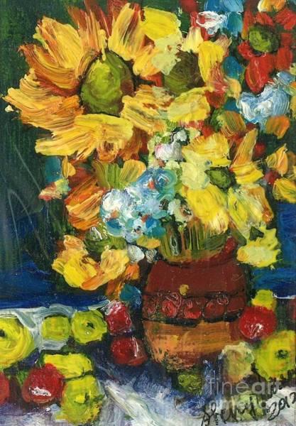 Arizona Sunflowers Poster