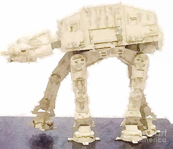 At-at All Terrain Armored Transport Poster