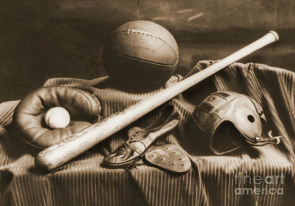 Athletic Equipment 1940 Poster