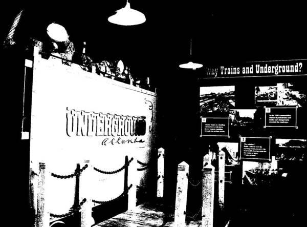 Atlanta Underground Poster