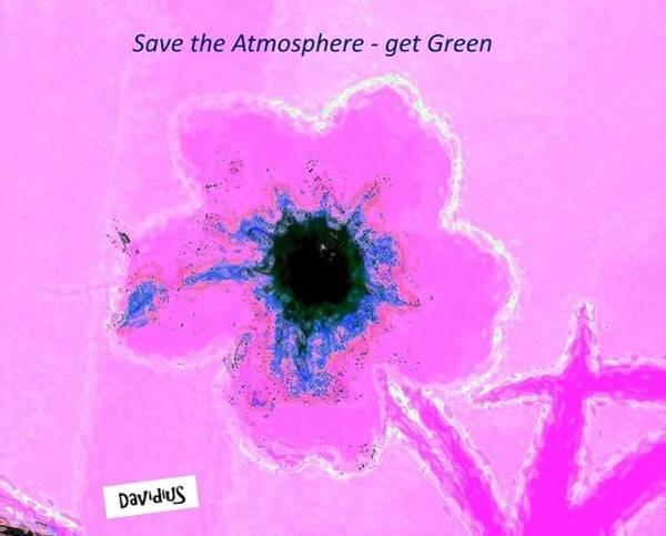 Atmospheric Pink Poster