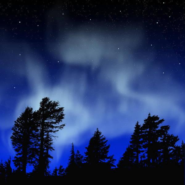 Aurora Borealis Wall Mural Poster