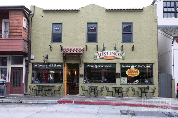 Austinos Patisserie On Monterey Cannery Row California 5d24760 Poster
