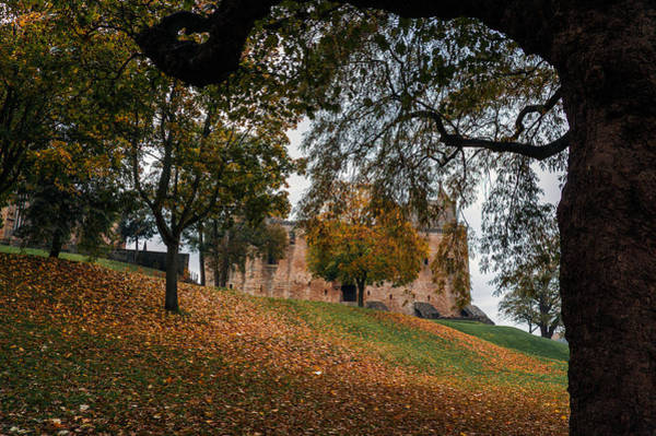 Poster featuring the photograph Autumn At Linlithgow Palace by Ross G Strachan