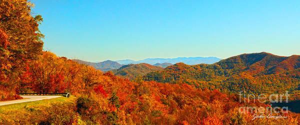 Autumn Blue Ridge Poster