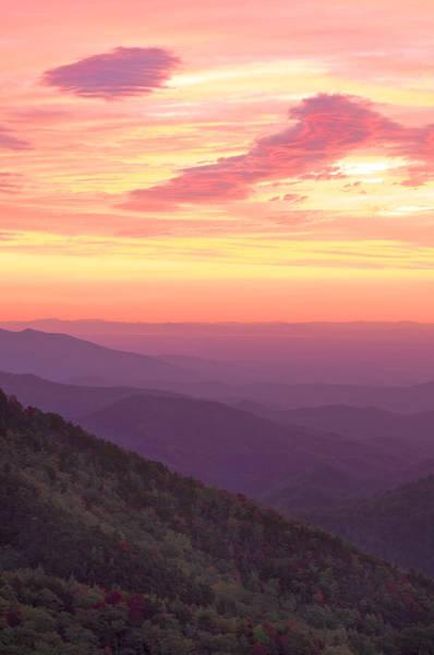 Autumn Blue Ridge Sunrise Poster