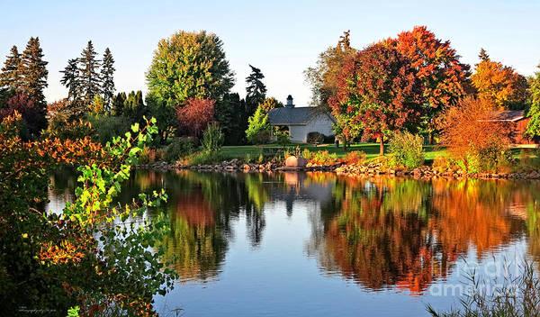 Autumn In Wisconsin Poster