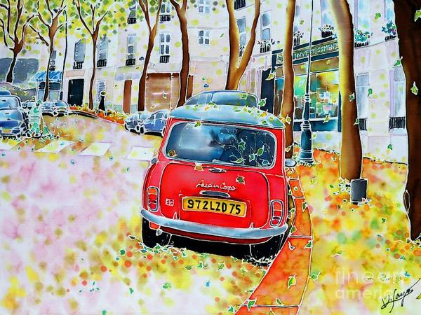 Avenue Junot In Autumn Poster