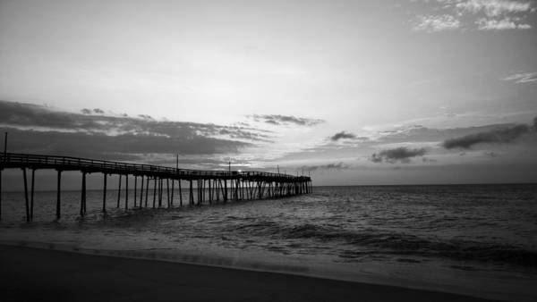 Avon Pier In Outer Banks Nc Poster