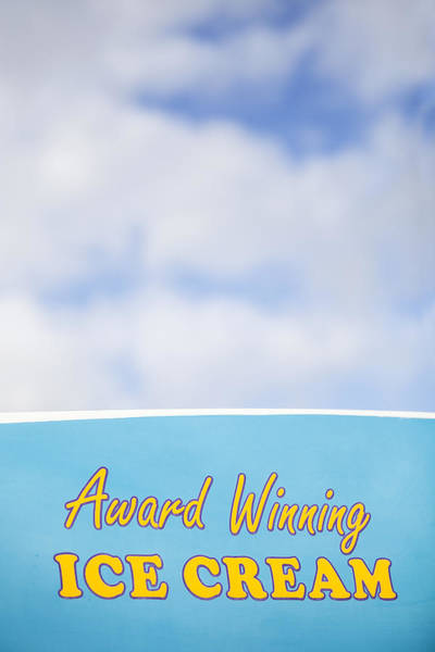 Award Winning Ice Cream Poster