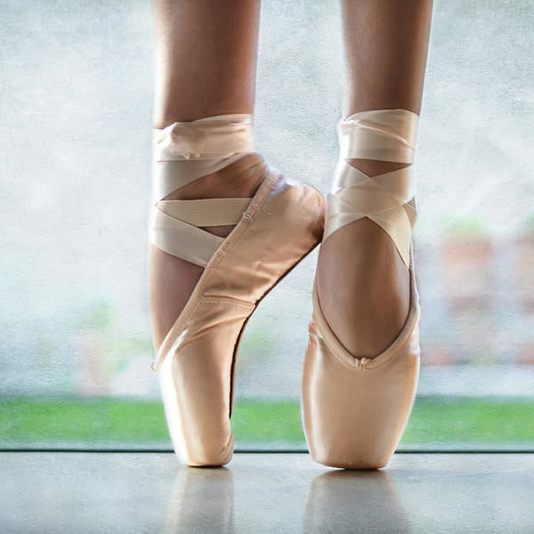 Ballet En Pointe Poster