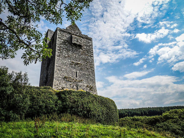 Ballinalacken Castle In Ireland's County Clare Poster