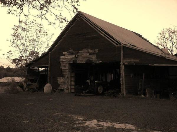 Barn In Moultrie Georgia 2004 Poster