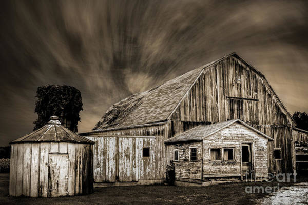 Barn On Hwy 66 Poster