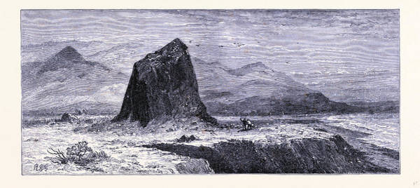 Basalt Rocks Near The Russian River United States Of America Poster