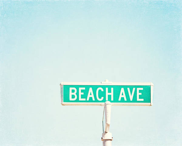 Beach Ave. Poster