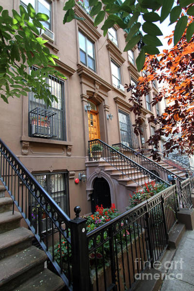 Beautiful Brownstone Home Poster