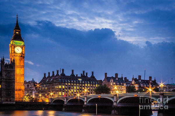 Beautiful London Poster