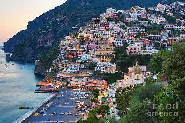 Beauty Of The Amalfi Coast  Poster