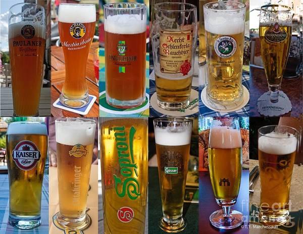 Beers Of Europe Poster