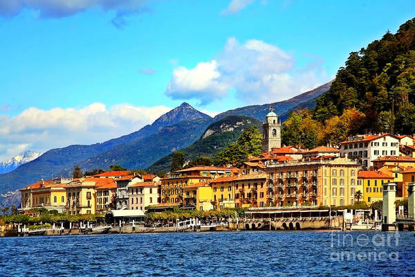 Poster featuring the photograph Bellagio On Lake Como by Kate McKenna