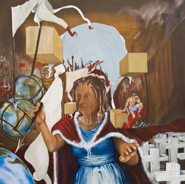Bellona Goddess Of War Sister Of Mars Poster