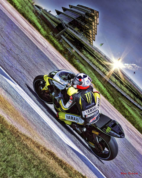 Ben Spies At Indy Poster