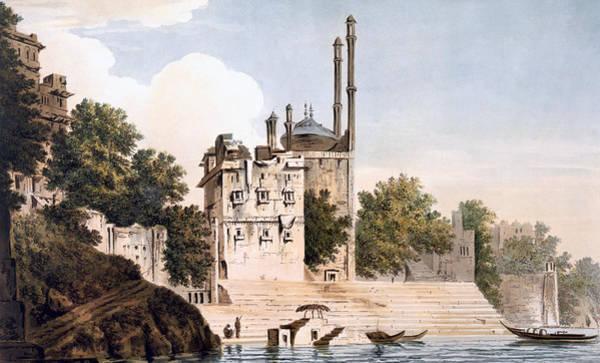 Benares On The Ganges Poster