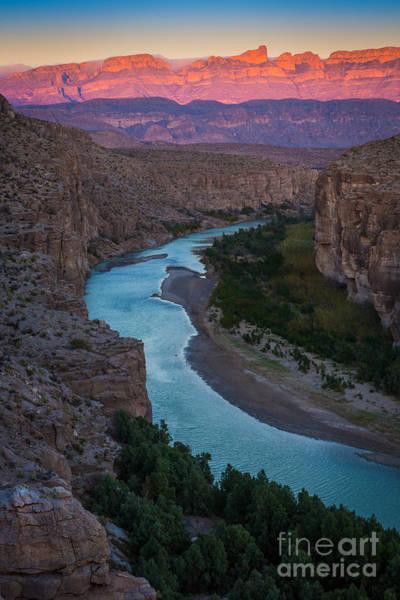 Bend In The Rio Grande Poster