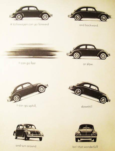 Benefits Of A Volkwagen Poster