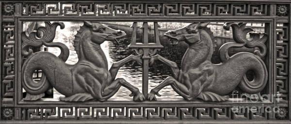 Berlin Sea Horses Poster
