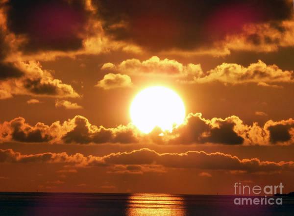 Bermuda Sunset Poster