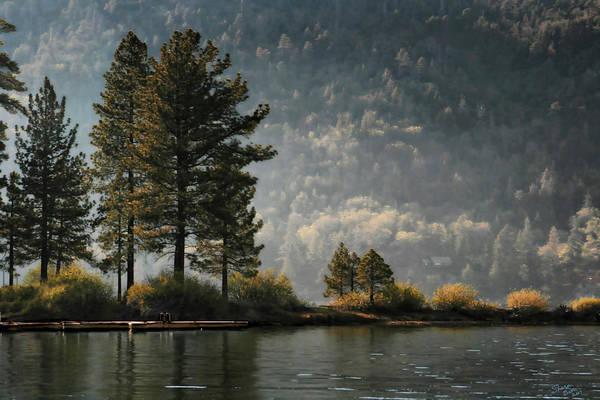 Big Bear Lake Scenic Poster