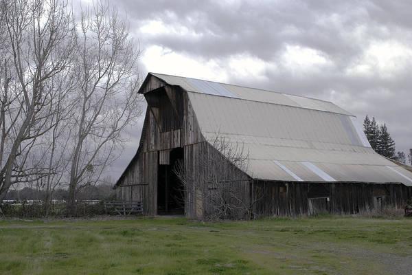 Big Gray Barn In Marysville1 Poster