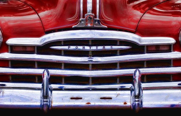 Big Red Pontiac Poster