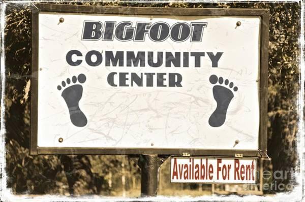 Bigfoot Evidence Poster