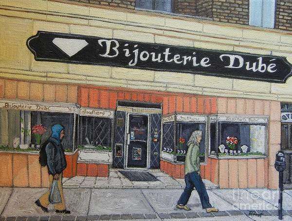Bijouterie Dube Poster