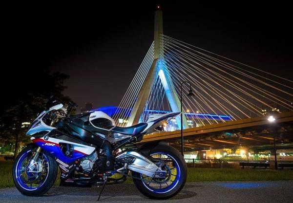Bike And Bridge Poster