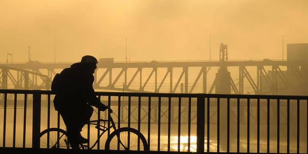 Biking The Bridges Poster