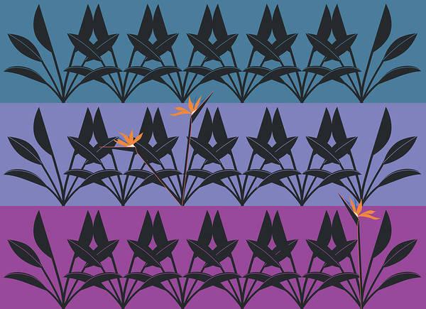 Bird Of Paradise Pattern Poster
