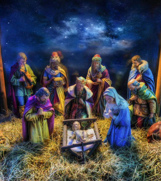Birth Of Jesus Poster