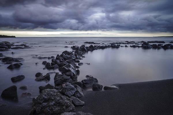 Big Island - Black Sand Beach Poster