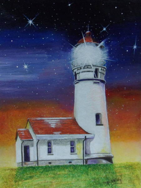 Blanco Lighthouse Poster