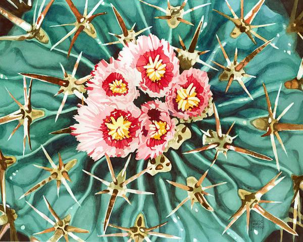 Bloomin' Horse Crippler Cactus Poster