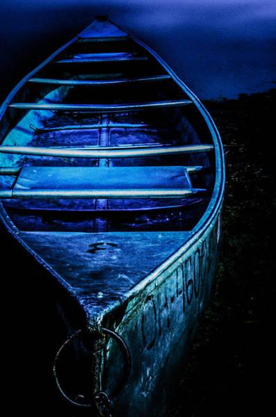 Blue Canoe Poster