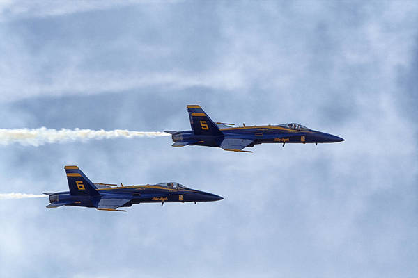 Blueangels Five And Six Poster
